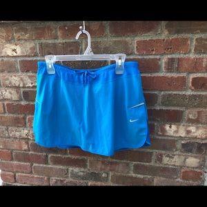 Nike Blue Dri-Fit Tennis Skirt, Large